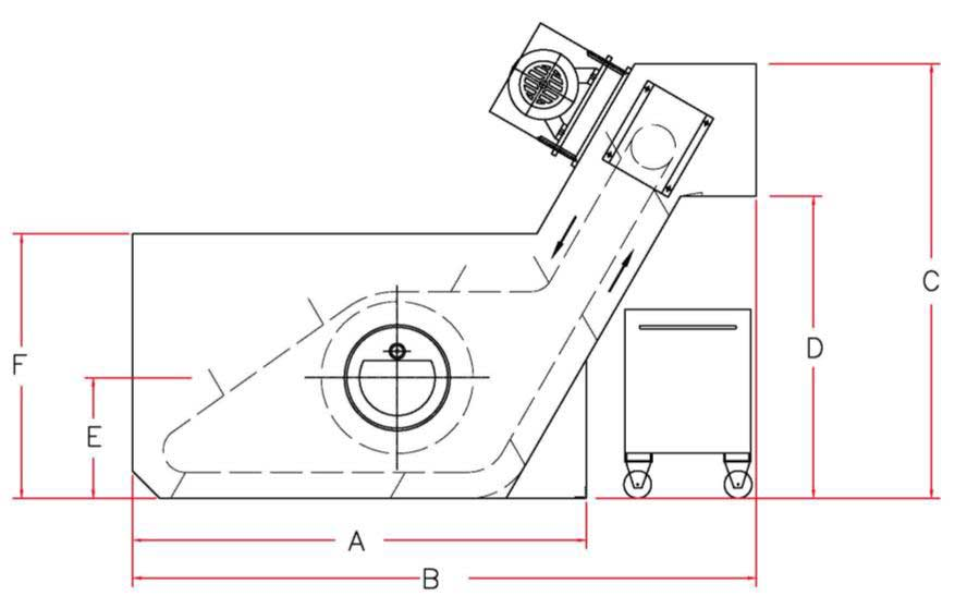 Drum-Type Scraper Separator Illustration   Prab.com