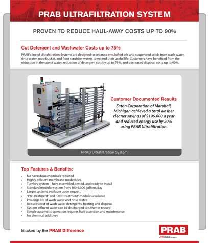 PRAB » Product Brochure: PRAB Ultrafiltration System | PRAB